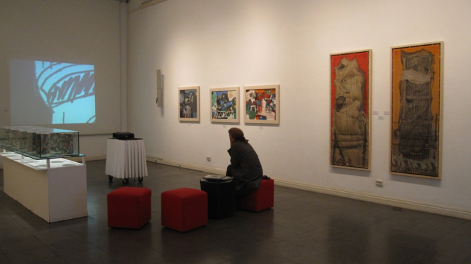 "New higher level in ""Ha noi- City in art"" Exhibition at Goethe Institut 2010"