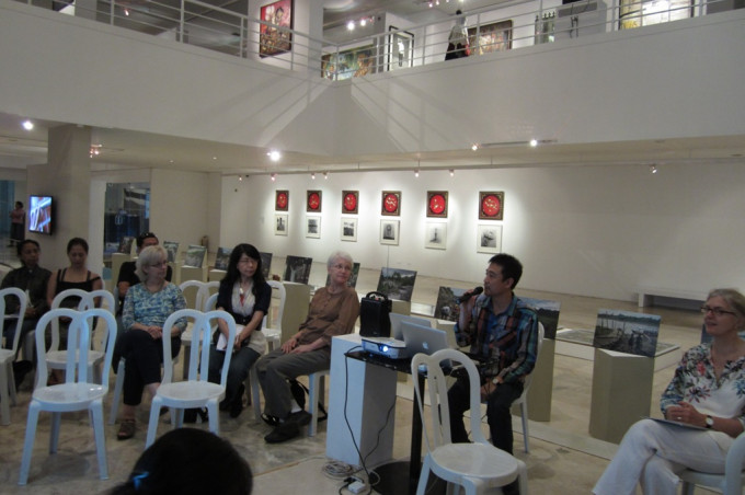 """River scape in Flux"" Exhibition in Metropolitan of Art Museum,Manila"