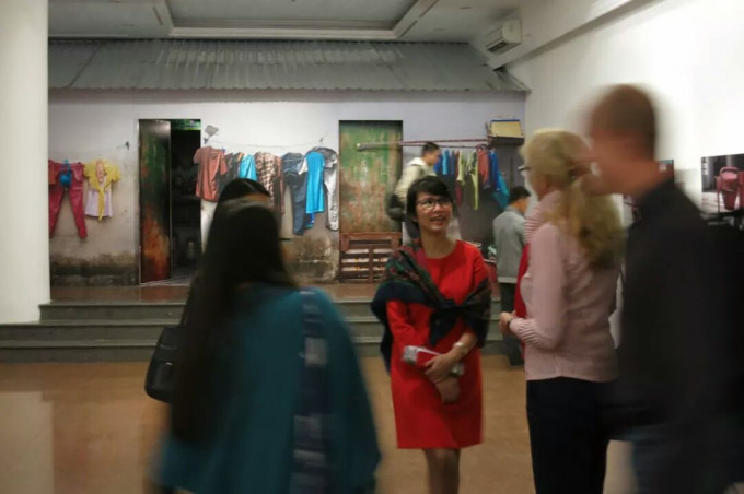 """""""8m2"""" project at """"Journey to a Green Vietnam"""" Exhibition"""