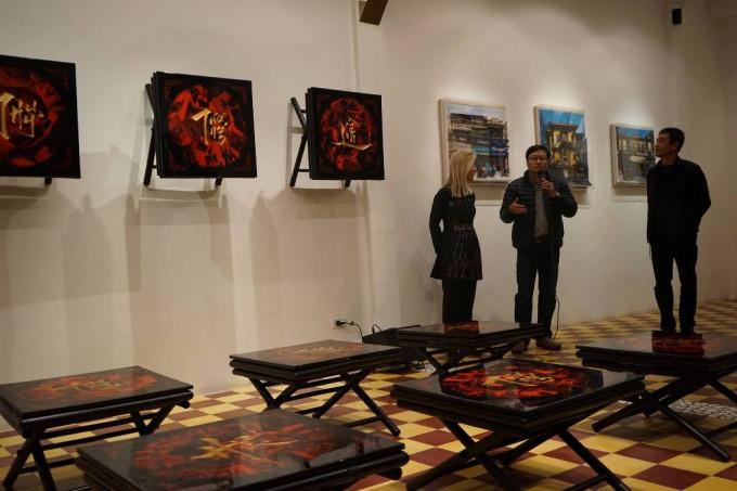 16 coffee tables installation exhibition – Artvietnam Gallery 2016
