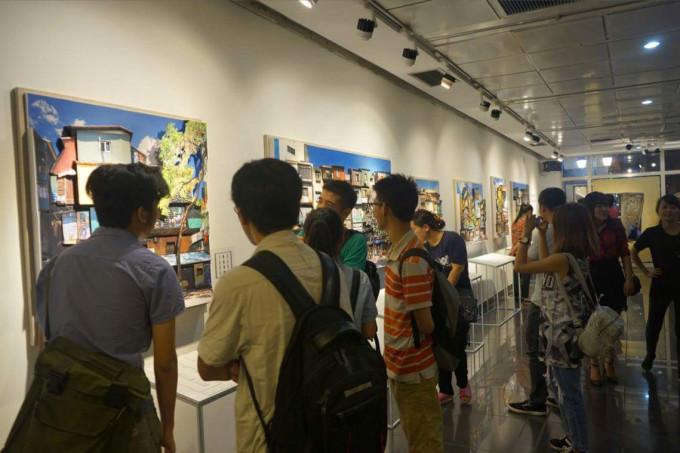 """Thay hình đổi mặt"" exhibition at l'espace -2016"