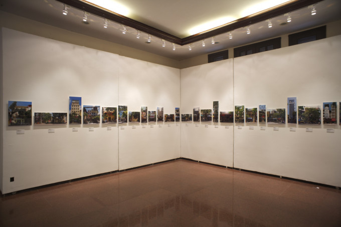 """""""I am looking for the communal house"""" Photo Installation at VNUFA"""