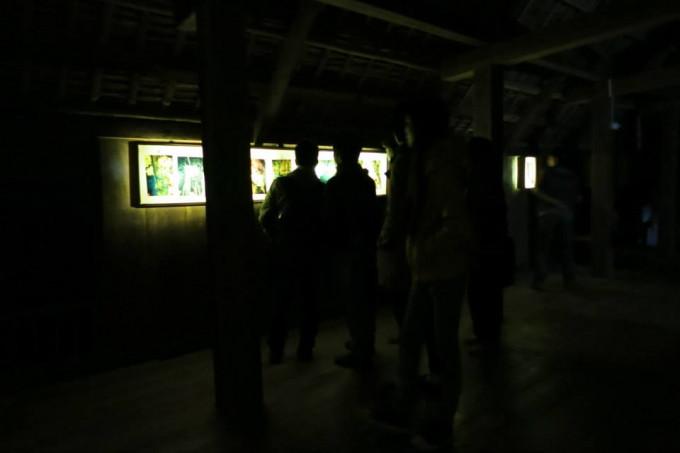 VINATREE photo-installation in I-CAMP project at Muong studio, Hoa Binh