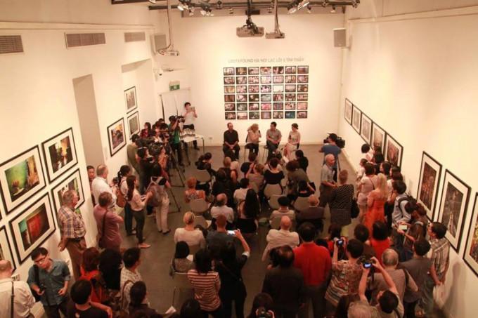 Lost and Found Ha noi: The openning of Book launch and Exibition