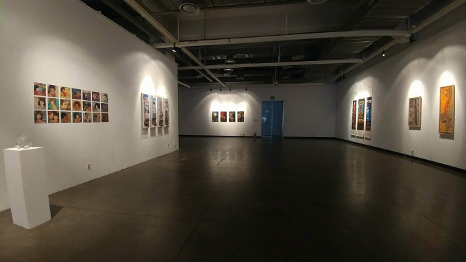 """""""Colour of the sound"""" in K-art Gallery- Seoul 2017"""