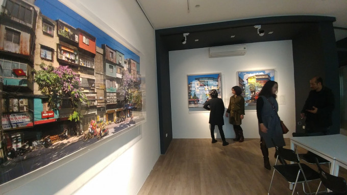"""""""City and Memory"""" at AGOhub Art space-2018"""