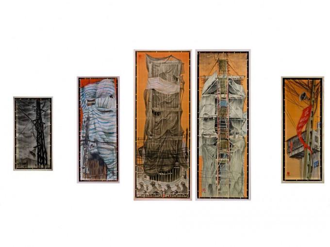 triển lãm tranh lụa và điêu khắc nhỏ – VCCA – 2018